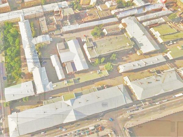 комплекс зданий «Алмаз-Антей» на Лермонтовском проспекте / скриншот с сайта «Яндекс.Карты»