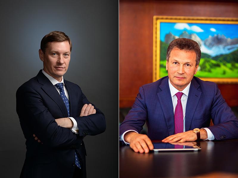 Михаил Москвин и Николай Пасяда