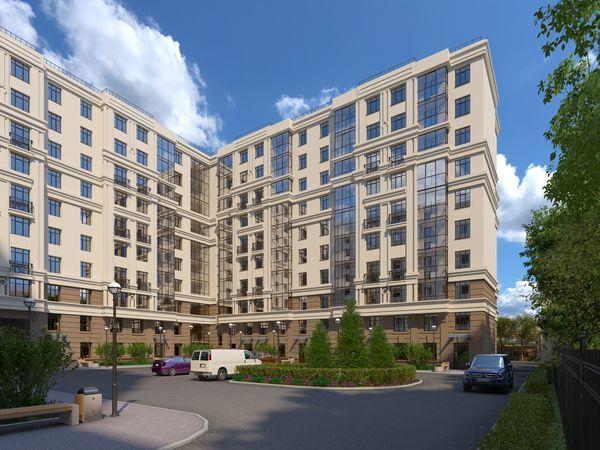 Готовность жилого комплекса «Дом у Каретного» от СК «Инвестторг» более 65%