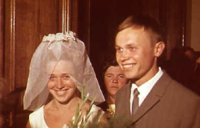 1966 г. Свадьба / Из семейного архива