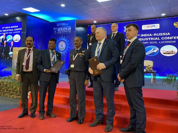 """""""Алмаз – Антей"""" и компания Bharat Dynamics Limited подписали меморандум о сотрудничестве"""